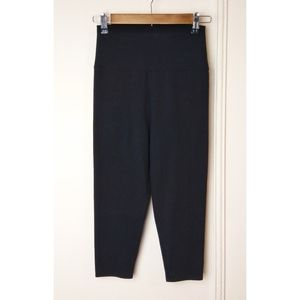 Nordstrom Capri Legging Casual High Waist Black